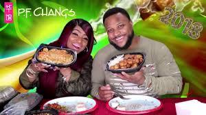 PF Changs Chinese Food Mukbang