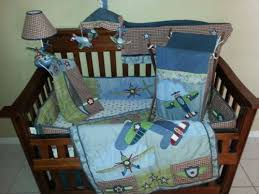 Airplane Crib Bedding Set plete VolusiaLife