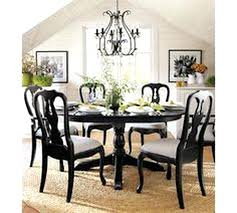 Queen Anne Dining Table Room Featuring The Chandelier Chairs And Pedestal Refinishing