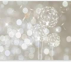murando fototapete 350x256 cm vlies tapeten wandtapete moderne wanddeko design wand dekoration wohnzimmer schlafzimmer büro flur pusteblume blumen