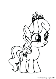 My Little Pony Coloring Page Fluttershy Pages Rarity