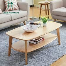 louis mode sofa tische nordic kleine wohnung doppel decker moderne wohnzimmer rot eiche massivholz büro abgerundeten quadratischen tisch