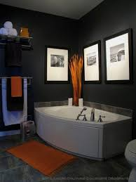 Mens Bathroom Decor Ideas | Hall Bath In 2019 | Orange Bathrooms ... 50 Bathroom Ideas For Guys Wwwmichelenailscom Rustic Decor Ideas Rustic Bathroom Tub Man Cave Weapon View Turquoise Floor Tiles Style Home Design Simple To Mens For The Sink Design Decorating Designs 5 Best Mans 1 Throne Bathrooms With Grey Walls And Black Cabinets Grey Contemporary Man Artemis Office Astounding Modern Bathrooms Image Concept Bedroom 23 Decorating Pictures Of Decor Designs 2018 Trends Emily Henderson 37