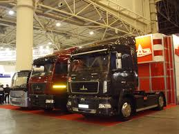 100 Maz Truck MAZ Vehicles At The International Salon Of Trucks And