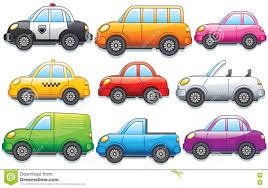 100 Different Trucks Funny Cartoon Cars Toy Car Bus Van Vector Clip Art