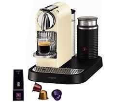 NESPRESSO 11301 Nespresso CitiZ Milk Coffee Machine Cream