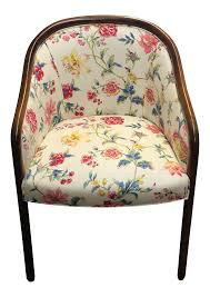 Lamps Plus San Rafael by Sutter Furniture Floral Side Chair Chairish