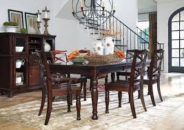 The Porter 8 Pc Rectangular Dining Room Extension Table 4 Side