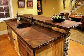 Image Of Rustic Kitchen Countertop Ideas