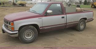 100 1988 Chevy Truck For Sale Chevrolet Silverado 2500 Pickup Truck Item I2690 SO