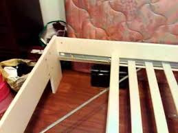 Ikea Brimnes Bed Instructions by Ikea Bed Assembly 20120212084 Mp4 Youtube