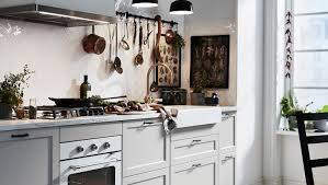 küche in hellgrau charmant schlicht ikea deutschland