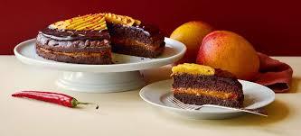 rezept tipp schoko mango torte mit chili falstaff
