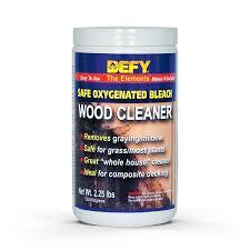 amazon com defy wood cleaner 2 25 lb home improvement