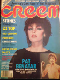 pat benatar late today s top 5 november 1981 via creem magazine the grey cat