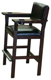 level best spectator chair black traditional game table