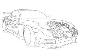 Rx7 Fast And Furious Cars