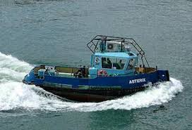 Tug Boat Sinks by Crew Of The Sunk Asterix Tug