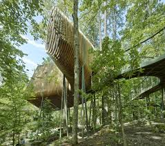 100 Tree House Studio Wood The Evans At Garvan Land Gardens By Modus