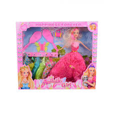 Buy Asaan Buy Pack Of 4 Barbie Doll Set Silver Yayvocom