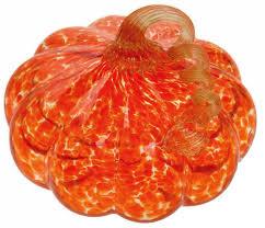 Glass Hand Blown Pumpkins by Thanksgiving Glass Pumpkin Figurines Thanksgiving Wikii