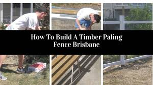100 Building A Paling Fence How To Build Timber Brisbane On Vimeo