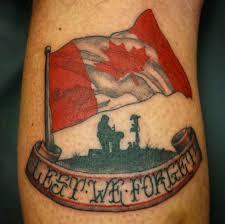 18 Patriotic Canadian Flag Tattoos