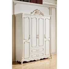 europäischen stil garderobe schlafzimmer möbel antik weiß geschnitzte holz schrank schiebetür klassischen holz schlafzimmer schrank