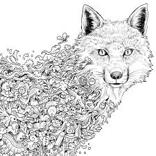 Adult Coloring Pages Animals Pdf