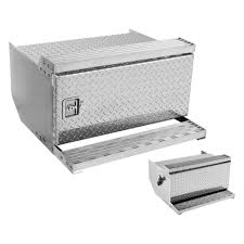 Merritt Aluminum Single Door Curbside Underbody Tool Box With ...