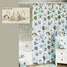 Atlantic Shell Stone Tile by Atlantic Seashell Coastal Shower Curtain