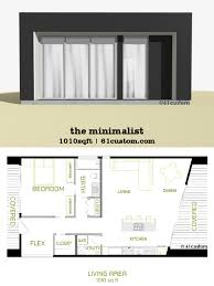 Modern House Minimalist Design by The Minimalist Small Modern House Plan 61custom Contemporary