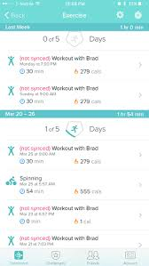 Solved Exercise says not synced Fitbit munity