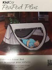 kidco peapod travel bed kidco p4012 peapod plus infant travel bed midnight ebay