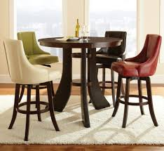Sofia Vergara Black Dining Room Table by Dining Table Set Modern Gorgeous Counter Height Pub Set Modern