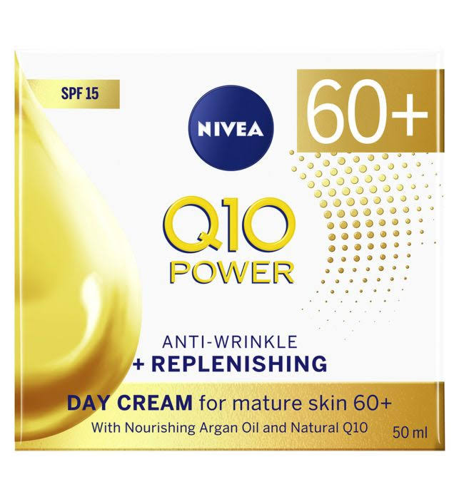 Nivea Q10 Power 60+ Anti Wrinkle Face Cream 50ml