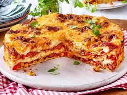 pizza lasagne das beste rezept lecker