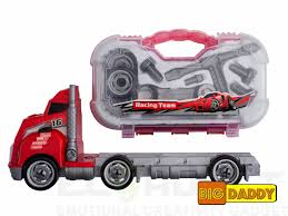 Big Daddy Big Rig Tool Master - Transport Toy Truck Carrier With ... Big Toy Tonka Dump Truck Action This Thing Is Huge Youtube Amazoncom Super Cstruction Power Trailer Childrens Friction Toystate 34621 Cat Big Builder Shaking Machine Dump Truck Trucks Toy Surprise Eggs Nickelodeon Disney Teenage Mutant Book Of Usborne Curious Kids Lab Unboxing Diecast Rigs More Videos For John Deere 38cm Scoop W Remote Control Rc Tractor Semi 18 Wheeler Style Bigdaddy Fire Rescue Play Set Includes Over 40 Corgi Suphaulers Collection Mixer Green Toys