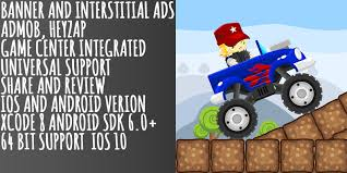 Monster Truck Stunts - Buildbox Game Template - Adventure Game ... Chevy Power 4x4 18 Scale Rc Offroad Monster Truck Is An Stunts Buildbox Game Template Adventure Theme Song Adventures Jtelly Youtube Buy Easy To Reskin With Police Car And Friends Cartoons Spectacular Home Facebook Blaze The Machines S03e15 Tow Team 1080p Nick Vector Cartoon On The Evening Landscape In Pop Art Hard Hat Harry Jsd Cinedigm Watch Your Name Is Mud Online Pure Flix Wash 3d For Kids Hello Here Our New Cool