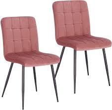 lestarain 2 stücke esszimmerstühle samtstuhl küchenstuhl