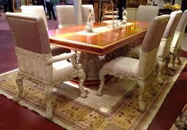 esstisch 6 stühle stuhl esszimmer garnitur barock rokoko tische tisch e66 neu