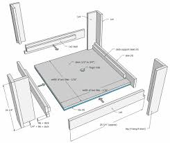 simple coffee table plan pallet reclaimed wood projects