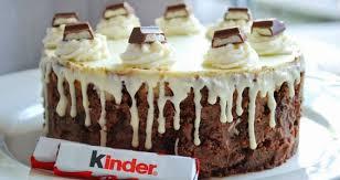 kinder schokolade torte kinderschokoladen kuchen kinder