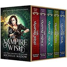 The Vampire Wish Complete Series Dark World Audiobook Cover Art