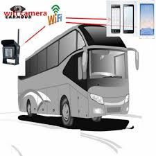 100 Camera Truck Iphone Android Phone WIFI For Bus Rear View