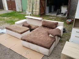 wohnlandschaft wohnzimmer sitzgarnitur sofa beige braun