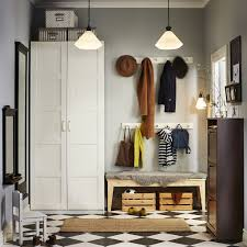 hall storage to accommodate all your comings and goings