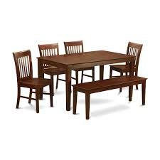 Shop Capri Mahogany Finish Solid Rubberwood 6-Piece Dining Set With ... Shop Psca6cmah Mahogany Finish 4chair And Ding Bench 6piece Three Posts Remsen Extendable Set With 6 Chairs Reviews Fniture Pating By The Professionals Matthews Restoration Tustin Chair Room Store Antoinette In Cherry In 2019 Traditional Sets Covers Leather Designs Dark Superb 1960s Scdinavian Design Rose Finished Teak Transitional Upholstered Mahogany Ding Room Chairs Lancaster Table Seating Wooden School House Modern Oval Woptional Cleo Set Finish Home Stag Extending Table 4