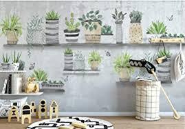 fototapete 3d effekt vlies tapete kakteen murals nordische bonsai tapeten wandbilder wohnzimmer