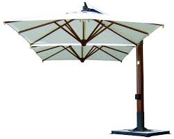 Exterior Ideas Double Elite fset Patio Deck Umbrellas Patio